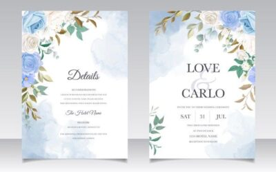 The Best Invitation Card Design for Special Moment