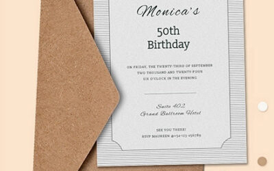 Fascinating Birthday Invitation Card You Can Make at Home