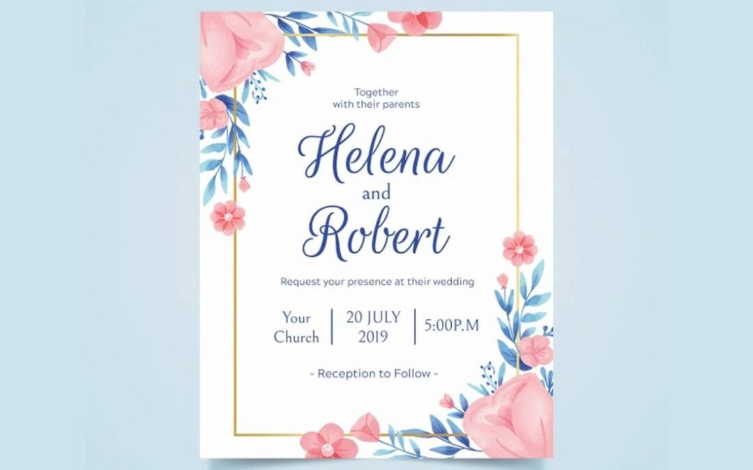 Best Invitation Card Design Ideas for Any Occasion