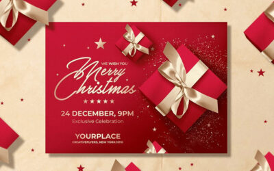 Best Christmas Invitation Card for Your Best Party